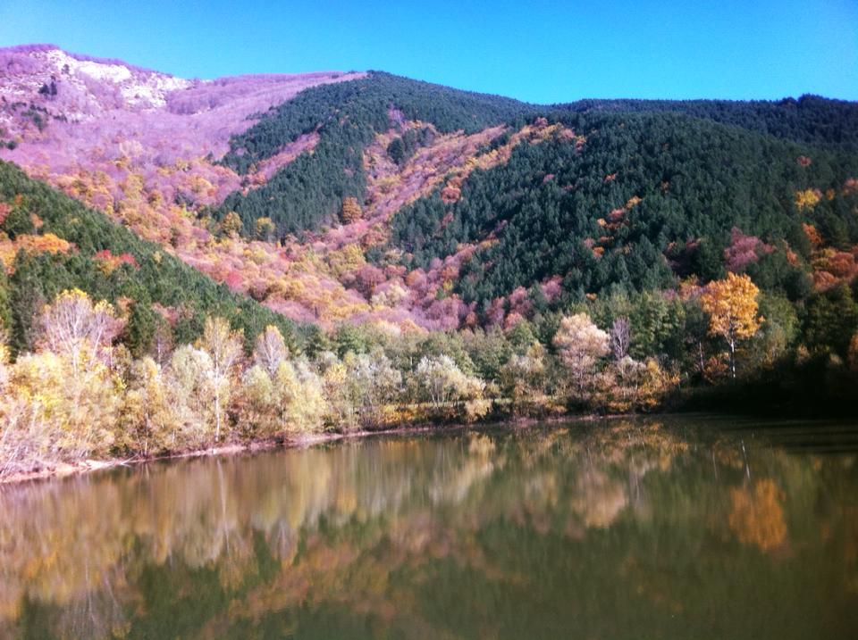 colori d'autunno al Lago dell'Aina !